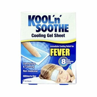 Kool 'n' Soothe Kids Cooling Strip for Fever (Pack of 4)