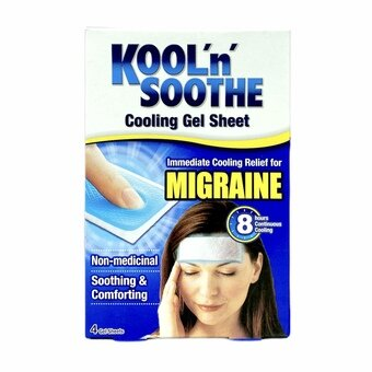 Kool 'n' Soothe Migraine Cooling Strips (Pack of 4)