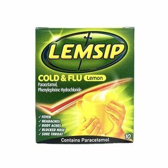 Lemsip Cold & Flu Lemon (Pack of 10)