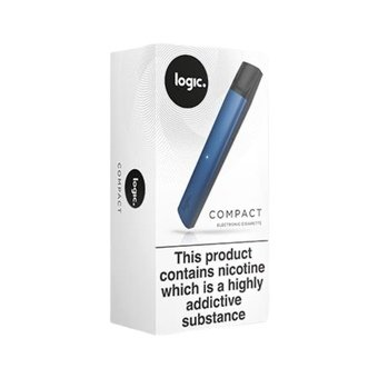 Logic Compact Device Vape - Steel Blue