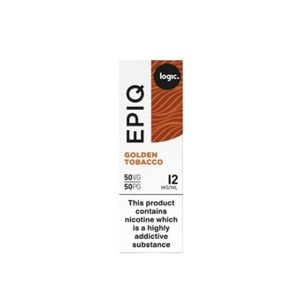 Logic EPIQ E-liquid 10ml  - Golden Tobacco 12mg