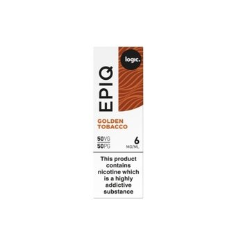 Logic EPIQ E-liquid 10ml  - Golden Tobacco 6mg