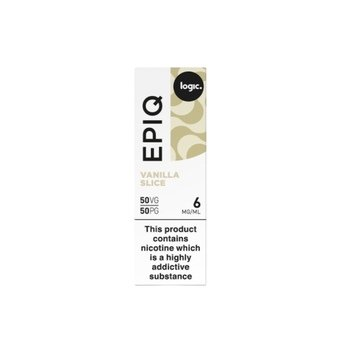 Logic EPIQ E-liquid 10ml  - Vanilla Slice 6mg