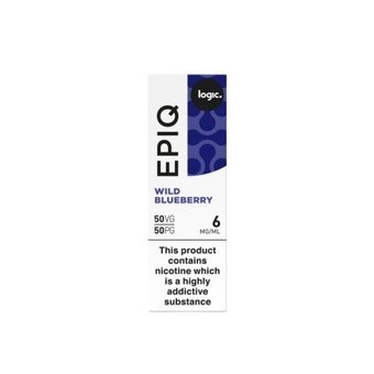 Logic EPIQ E-liquid 10ml  - Wild Blueberry 6mg