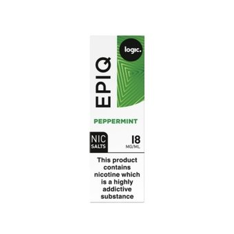 Logic EPIQ E-liquid 10ml - Peppermint 18mg - Nicotine Salts