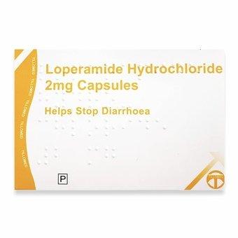 Loperamide 2mg Hard Capsules (Pack of 30)