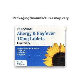 Loratadine 10mg Tablets (Pack of 60)