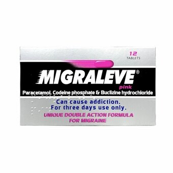 Migraleve Tablets Pink (Pack of 12)