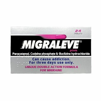 Migraleve Tablets Pink (Pack of 24)