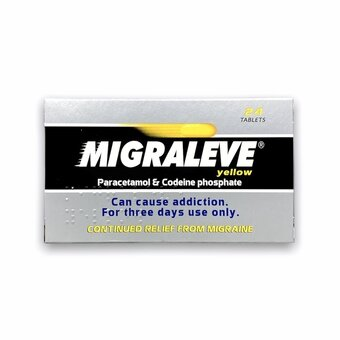 Migraleve Tablets Yellow (Pack of 24)