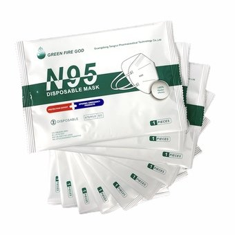 N95 FFP2 Surgical Mask (Pack of 1)