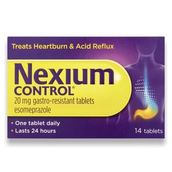 Nexium Control Gastro-resistant Tablets 20mg (Pack of 14)