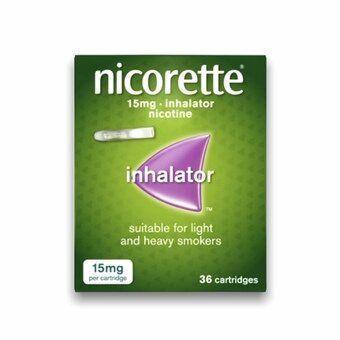 Nicorette 15mg Inhalator Cartridges (Pack of 36)