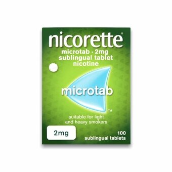 Nicorette 2mg Microtab Original (Pack of 100)