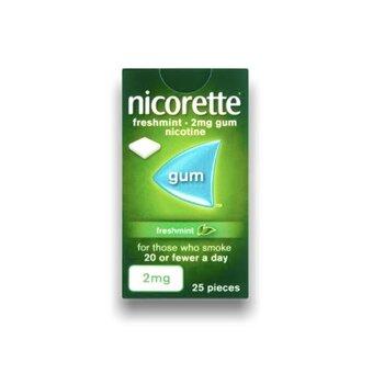 Nicorette Chewing Gum Freshmint 2mg (25)