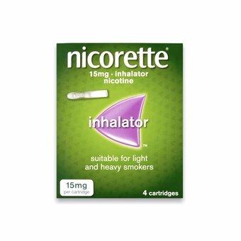 Nicorette Inhalator Starter Pack 15mg (Pack of 4)