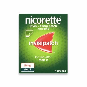 Nicorette Invisi-patch - Step 3 - 10mg (Pack of 7)