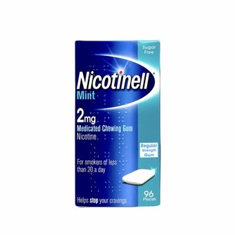 Nicotinell 2mg Mint Gum (Pack of 96)