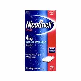 Nicotinell 4mg Fruit Gum (Pack of 96)
