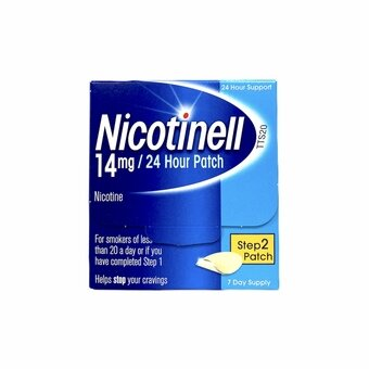 Nicotinell Tts 20 Patches 14mg (Step 2) (Pack of 7)