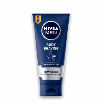 Nivea Men Shaving Gel For Body 200ml