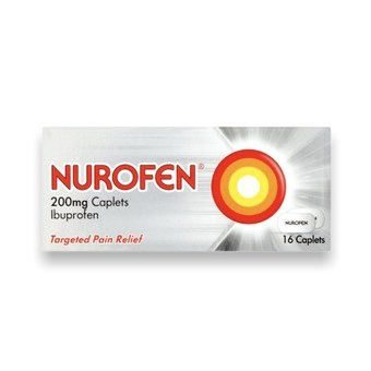 Nurofen 200mg Caplets (Pack of 16)