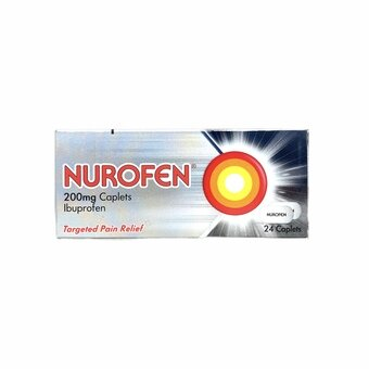 Nurofen 200mg Caplets (Pack of 24)