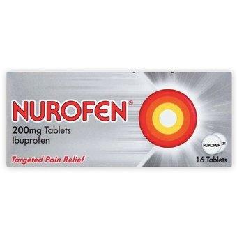 Nurofen 200mg Tablets - Ibuprofen (Pack of 16)