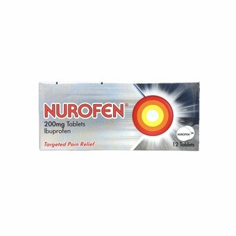 Nurofen 200mg Tablets (Pack of 12)