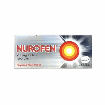 Nurofen 200mg Tablets (Pack of 48)