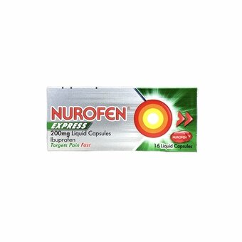 Nurofen Express Liquid Capsules (Pack of 16)