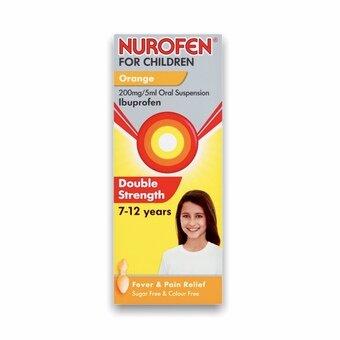 Nurofen For Children 7-12 Years Orange 100ml