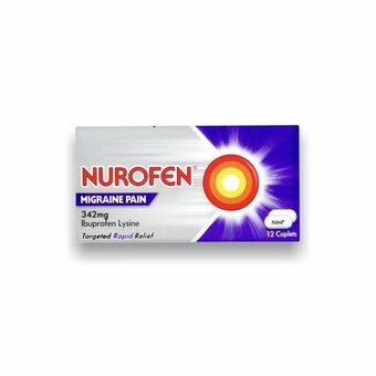 Nurofen Migraine Pain Tablets (Pack of 12)