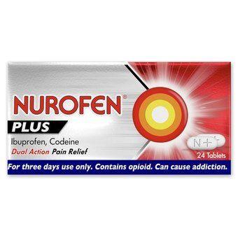 Nurofen Plus Tablets (Pack of 24)