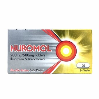 Nuromol Double Action Tablets (Pack of 24)