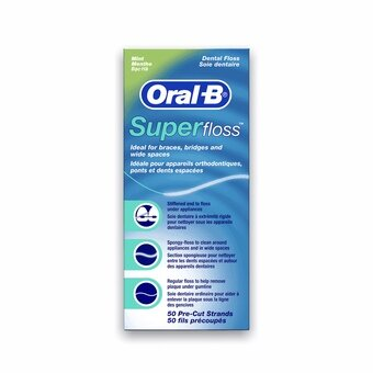Oral B Super Floss (50 pre-cut strands)