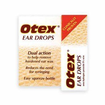 Otex Ear Drops - Urea Hydrogen Peroxide 5% w/w - 8ml