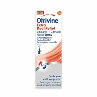 Otrivine Extra Dual Relief Nasal Spray 10ml