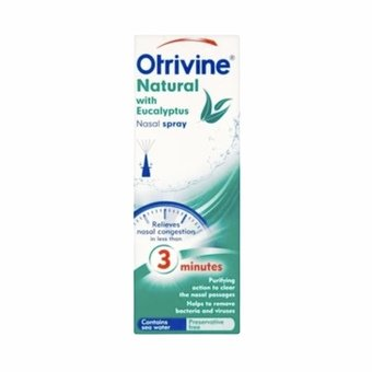 Otrivine Natural Nasal Spray with Eucalyptus 20ml
