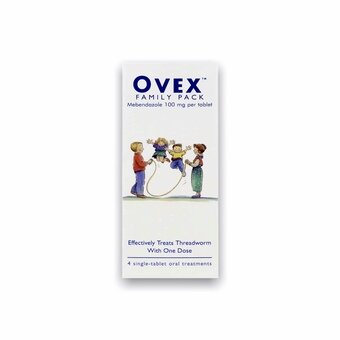 Ovex Tablets Family Pack 100mg (Pack of 4)
