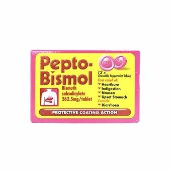 Pepto-Bismol Tablets 12 Pack