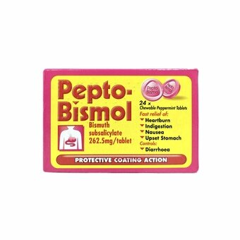 Pepto-Bismol Tablets 24 pack