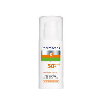 Pharmaceris S - Protective SPF50+ Sun Cream For Acne, Mixed&Oily Skin 50ml