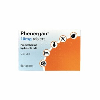 Phenergan Tablets 10mg (Pack of 56)