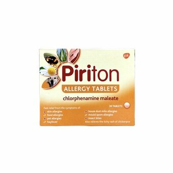Piriton Allergy Tablets (Pack of 30)