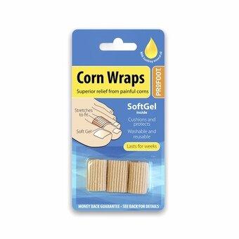 Profoot Soft Gel Polymer Range Corn Wrap (Pack of 3)