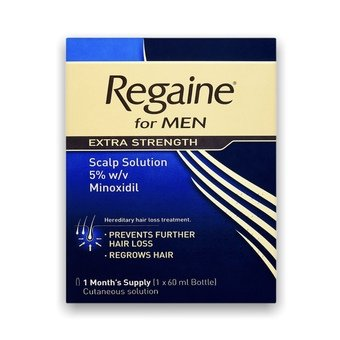 Regaine Extra Strength For Men Solution (1 Months Supply)