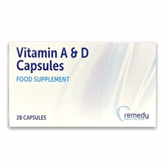 Vitamin A & D Capsules (Pack of 28)