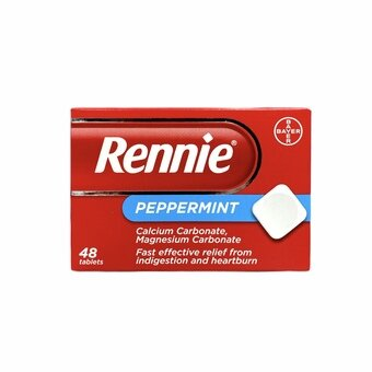 Rennie Tablets Peppermint (Pack of 48)
