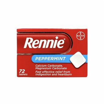 Rennie Tablets Peppermint (Pack of 72)